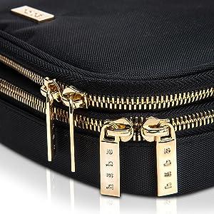 habe travel jewelry organizer case bag