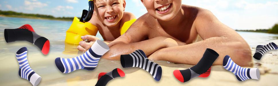 beach water park teen waterproof socks