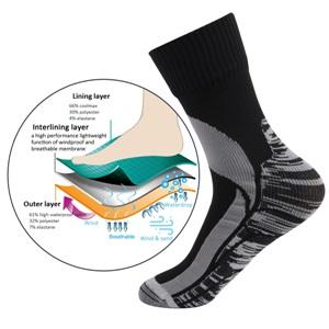 breathable windproof socks