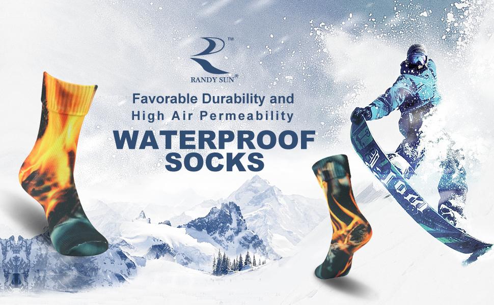 waterproof socks gift estival celebration wonderfull present