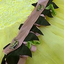 Detachable flowers