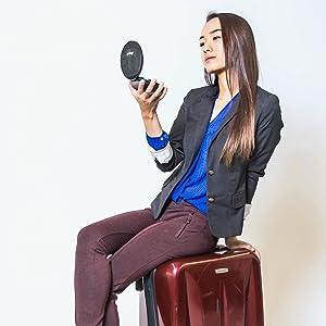 Fancii travel magnifying mirror