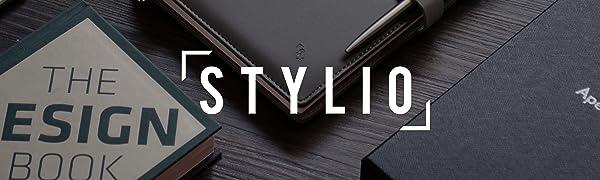 stylio office planner padfolio portfolio organizer leather binder cover data ring binder