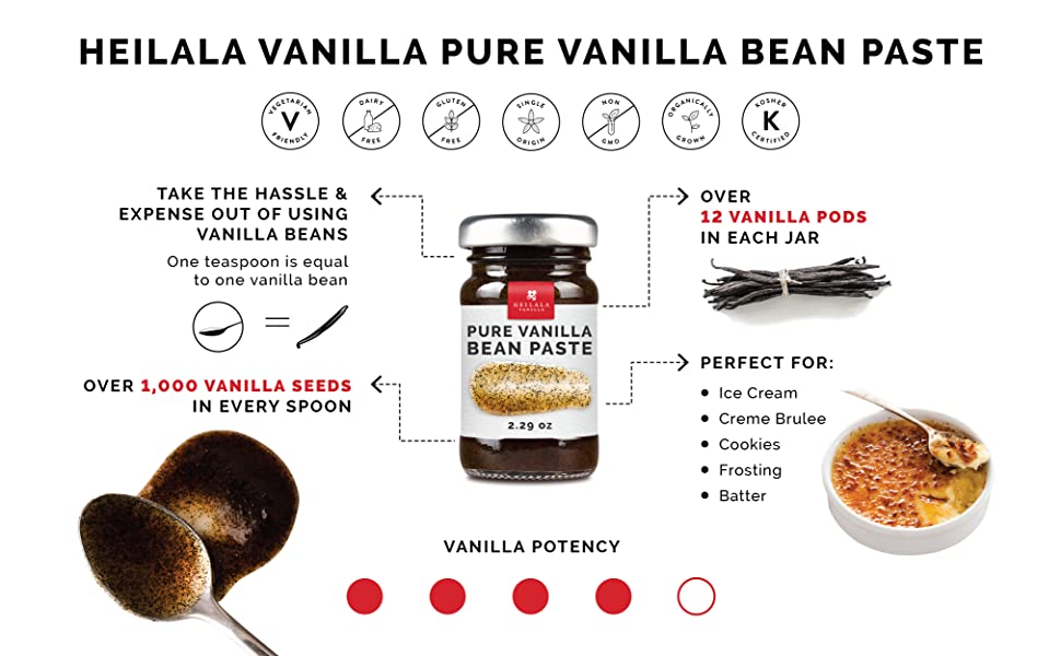 vanilla bean paste pure