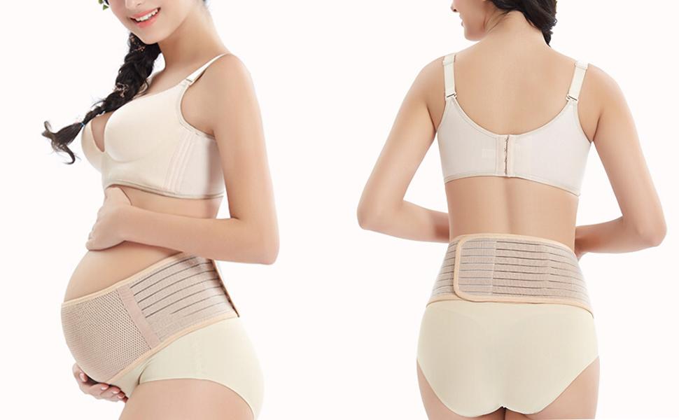 Amazon.com: Cinturón de embarazo, banda de apoyo para el ...