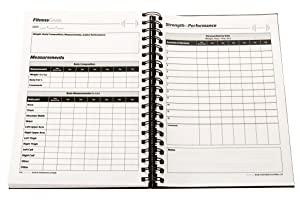 SaltWrap The Daily Fitness Planner - Gym Workout Log and Food Journal - with Daily and Weekly Pages, Goal Tracking Templates, Spiral-Bound, 7 x 10 inches 23