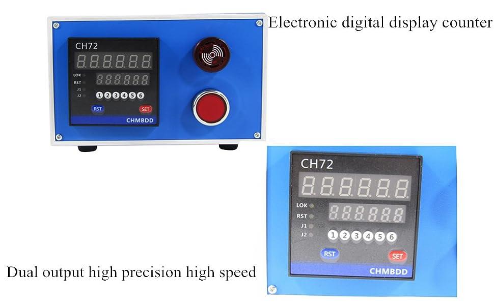 High Precision Electronic Meter Counter Wheel Length Encoder Controller
