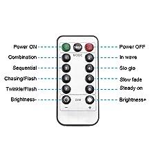 Remote Control&8 Modes