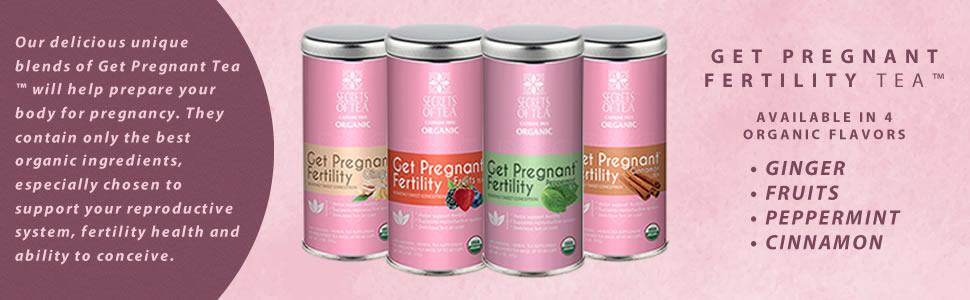 secrets of tea get pregnant fertility tea organic reproductive system