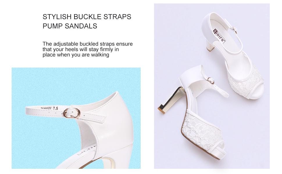 IDIFU Heeled Sandals