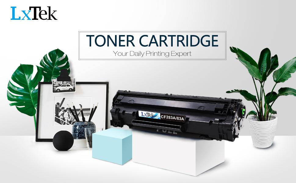 LxTek Compatible for HP 83A CF283A Toner Cartridge High
