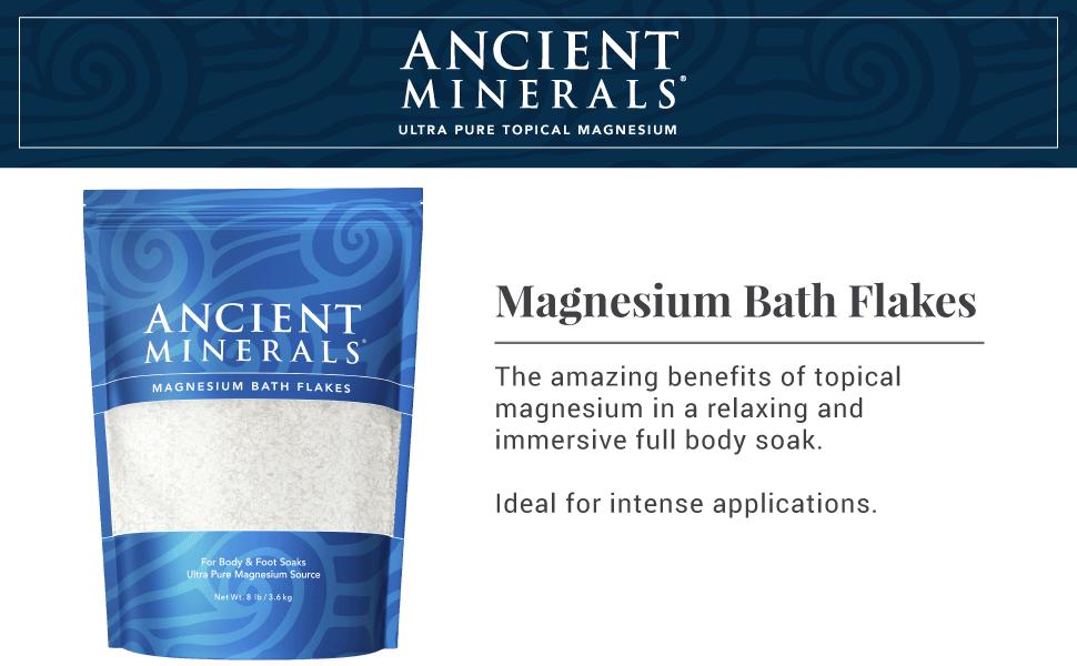 ancient minerals, magnesium, topical, bath