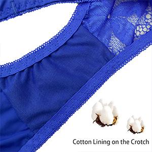 d39e8d16ea La Dearchuu Push Up Bra and Panty Set for Women Underwear Lingerie ...