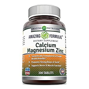 CALCIUM, MAGNESIUM AND ZINC 300 TABLETS