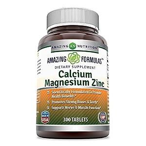 CALCIUM, MAGNESIUM AND ZINC 300 TABLETS