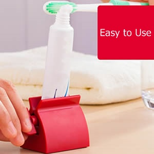 Creative Toothpaste Tube Squeezer Easy Dispenser Holder Rolling Bathroom Supply