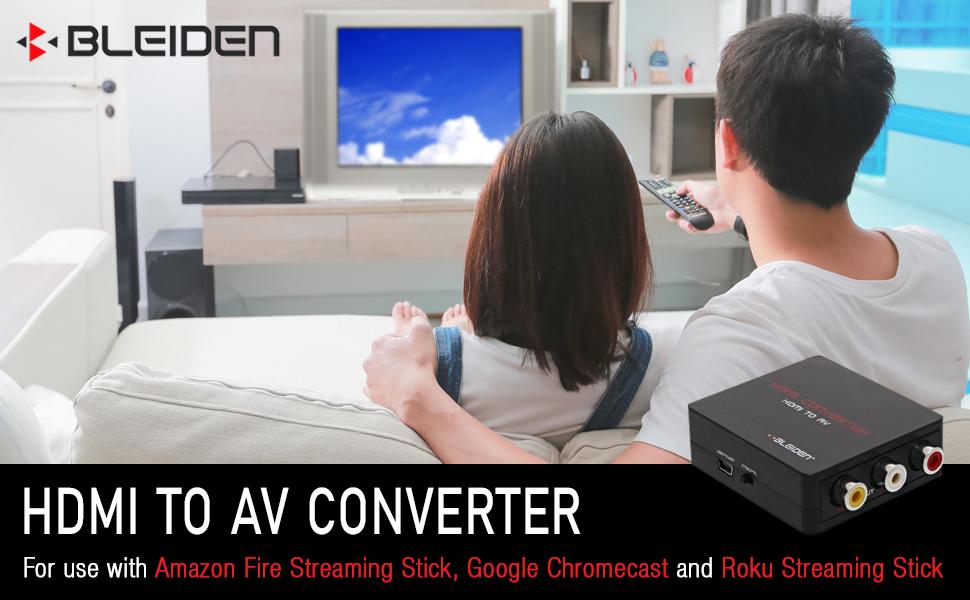Bleiden HDMI to AV Converter
