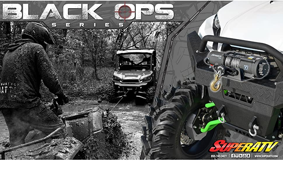 Black Ops Series Winches