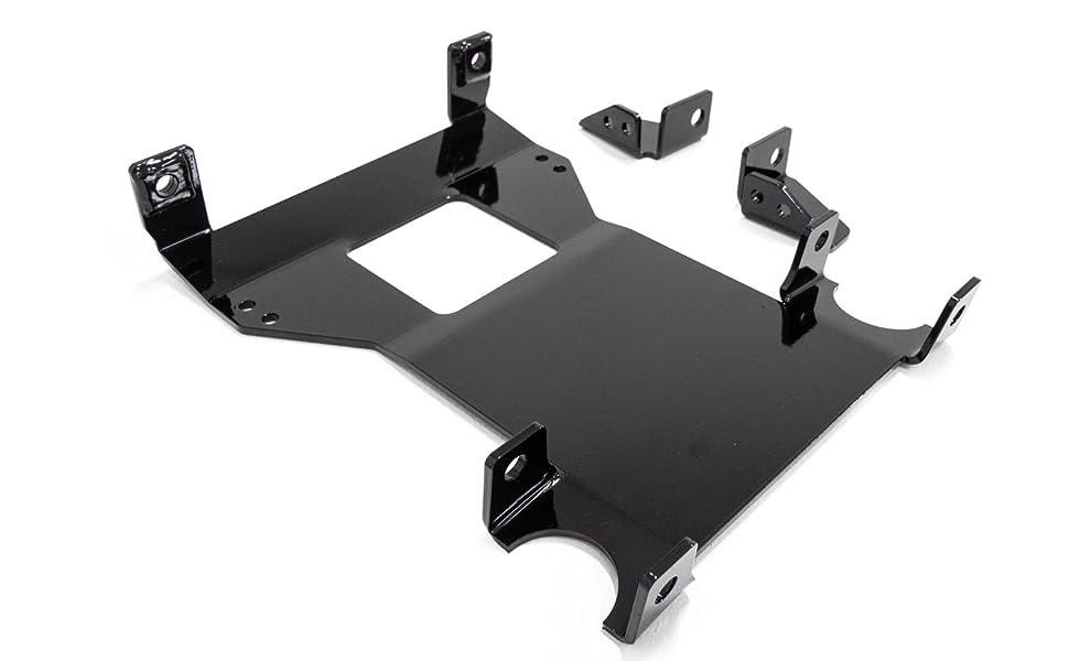 SuperATV Heavy Duty Frame Support Stiffener for Polaris RZR RS1 2018+