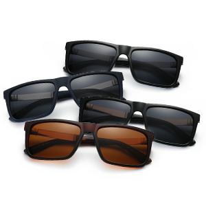 774592b4fd6 DONNA Trendy Oversized Square Aviator Polarized Sunglasses Style ...