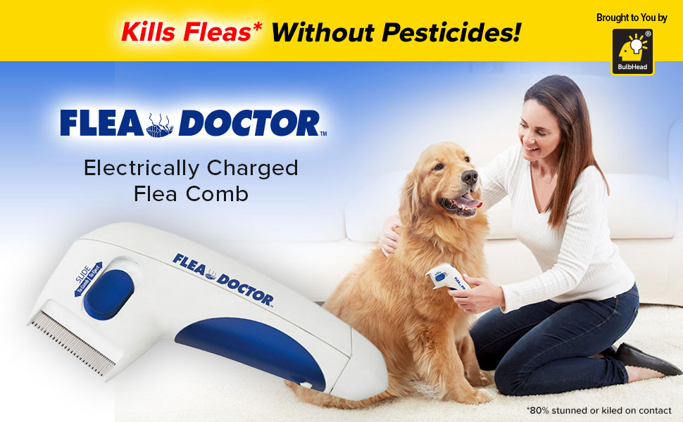 Buy Flea Doctor Electric Flea Comb for cats and dogs in Kenya on Petsasa Nairobi