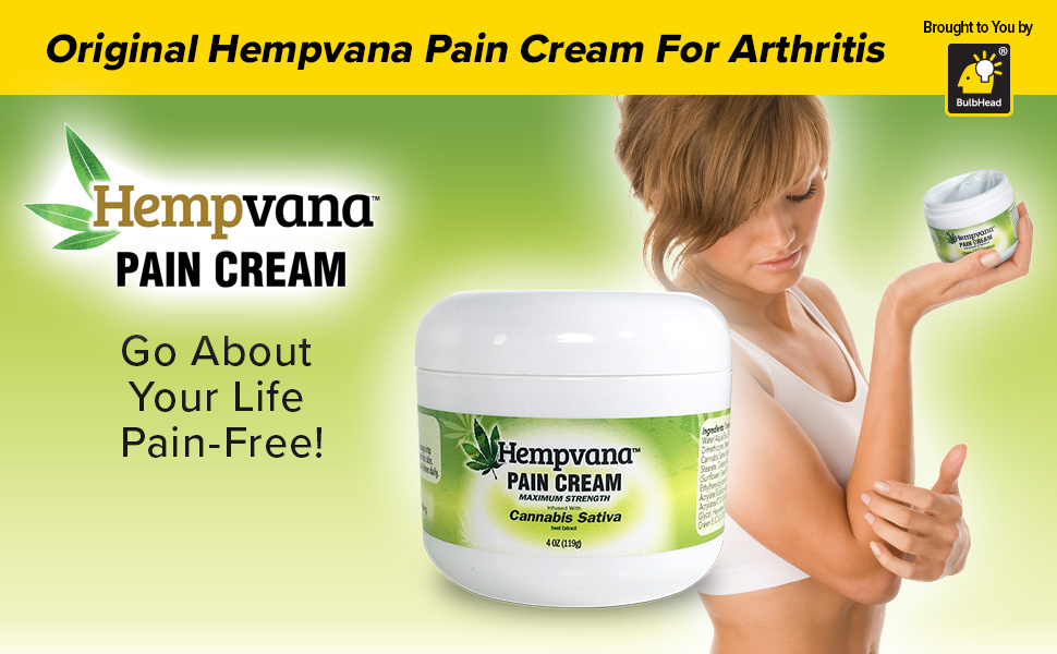 Hempvana Pain Cream