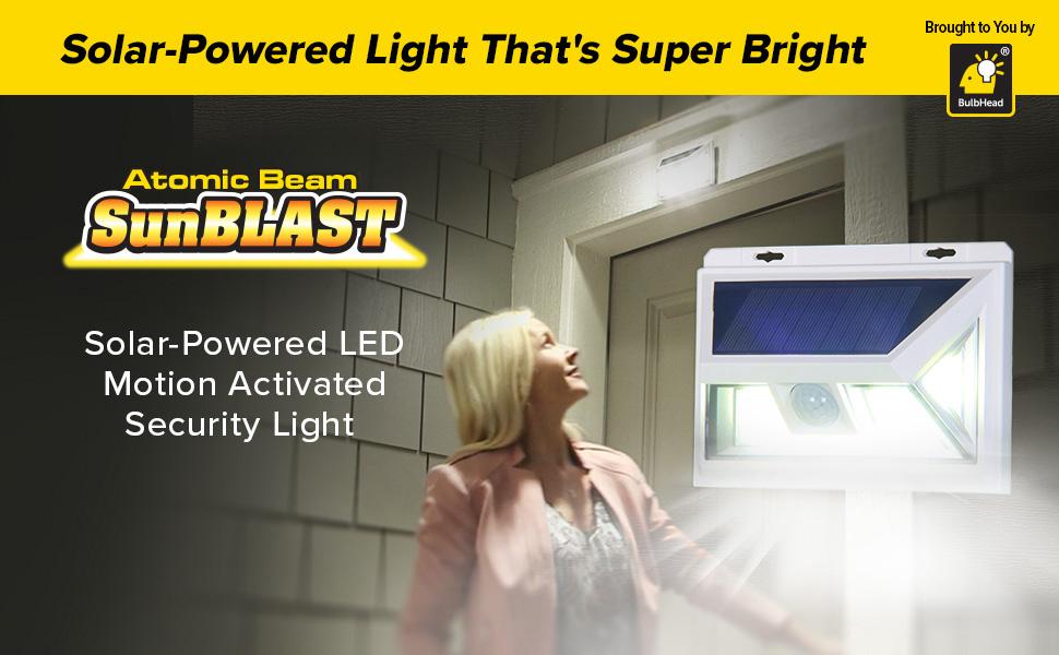 Atomic Beam SunBlast Solar Powered LED Light