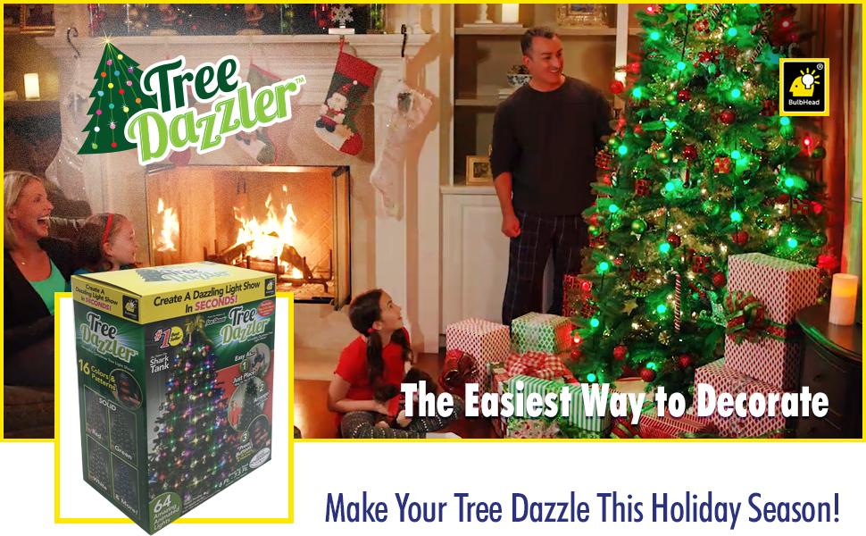 Amazon.com : Star Shower Tree Dazzler LED Christmas Lights