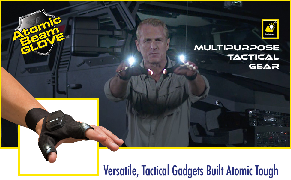 Amazon Com Atomic Beam Glove Flashlight By Bulbhead Led