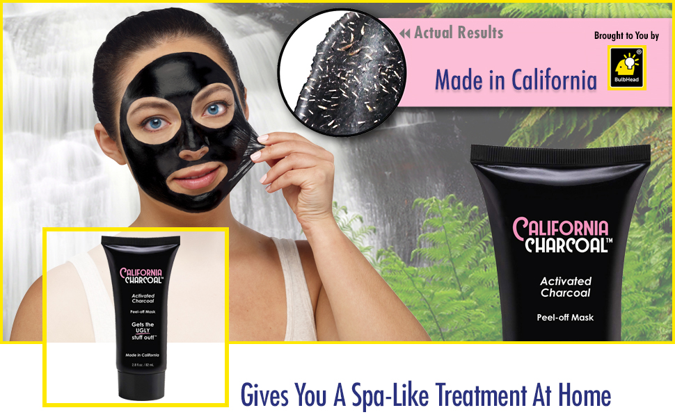 Amazon Com California Charcoal Activated Charcoal Mask By