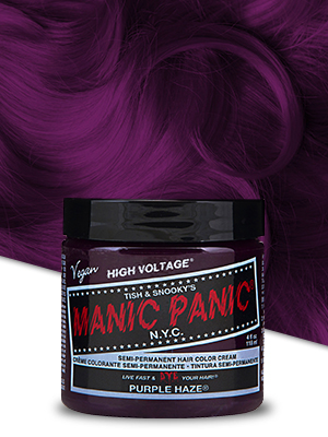 Image result for Manic Panic Purple Haze Purple Hair Dye Color 2pk