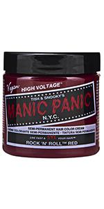Rock N Roll Red hair color
