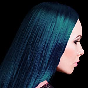 voodoo blue hair color