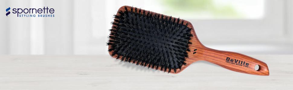 boar bristle hair brush
