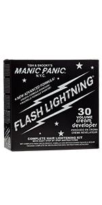 Amazon.com: Manic Panic Flash Lightning Hair Bleach Kit 40