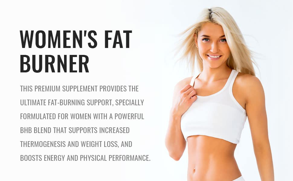 premium supplement ultimate fat burner for women bhb formula advanced  increased performance