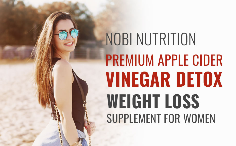 Apple cider vinegar pills for women thermogenic fat burner detox and cleanse metabolism booster pure