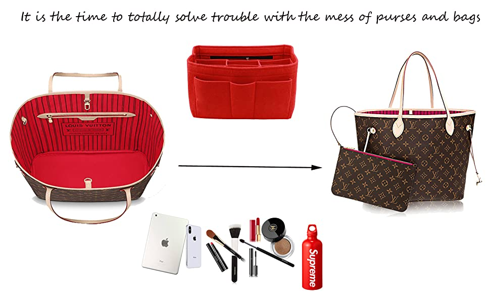 It is the time to totally solve trouble with the mess of purses and bags