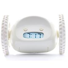 alarm-clock heavy-sleeper clocky loud roll run jump hide leap fly bed wheel pink digital wake-up