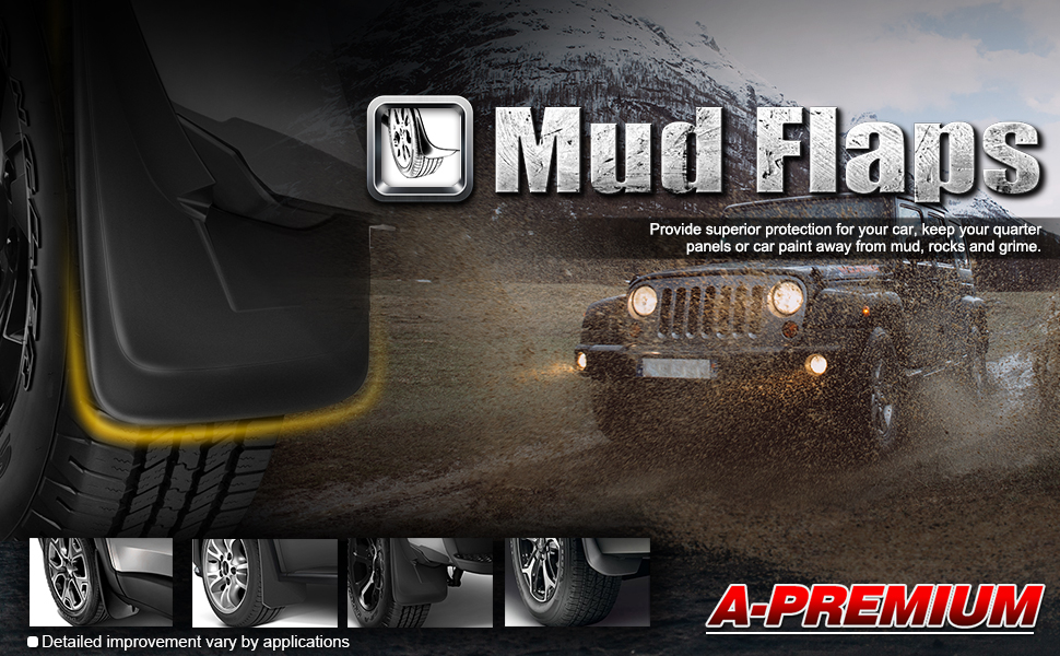 Tacoma mud flaps