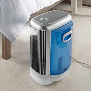 brookstone pure ion bedroom air purifier and. Black Bedroom Furniture Sets. Home Design Ideas
