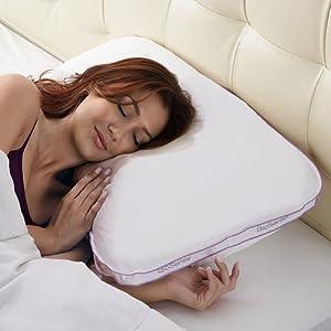 Amazon Com Brookstone Biosense 2 In 1 Shoulder Pillow For