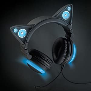 Amazon.com: Wired Cat Ear Headphones: Electronics
