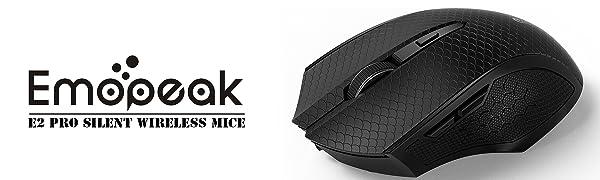 E2 Pro Slient Wireless Mouse