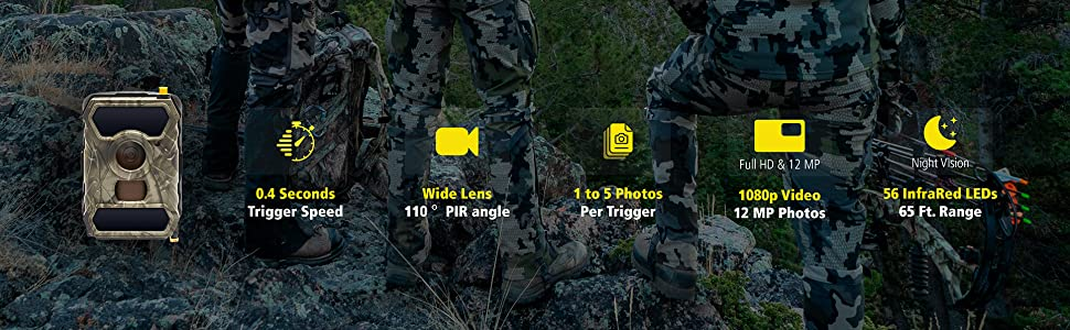 3g hunting camera that sends photos to phone