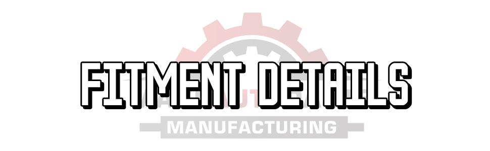 fitment details