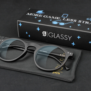 1b340cf5a86 Amazon.com  GLASSY TimTim Premium Blue Light Blocking Glasses