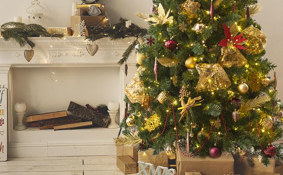 gold christmas decoration theme
