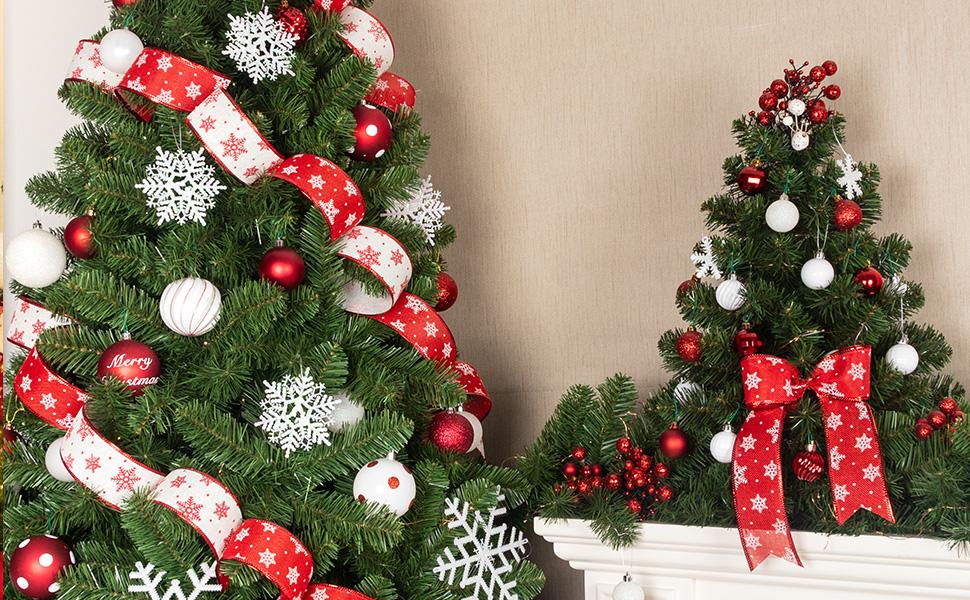 ki store red christmas balls set