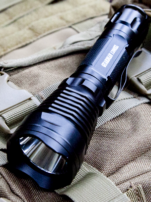 Internova Guardian Rechargeable Tactical Flashlight